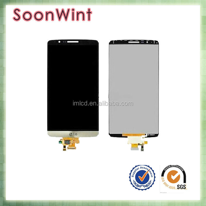 repair parts for lg g3 d858 d855 d859, wholesale replacement screen for lg g3 lcd display touch with frame