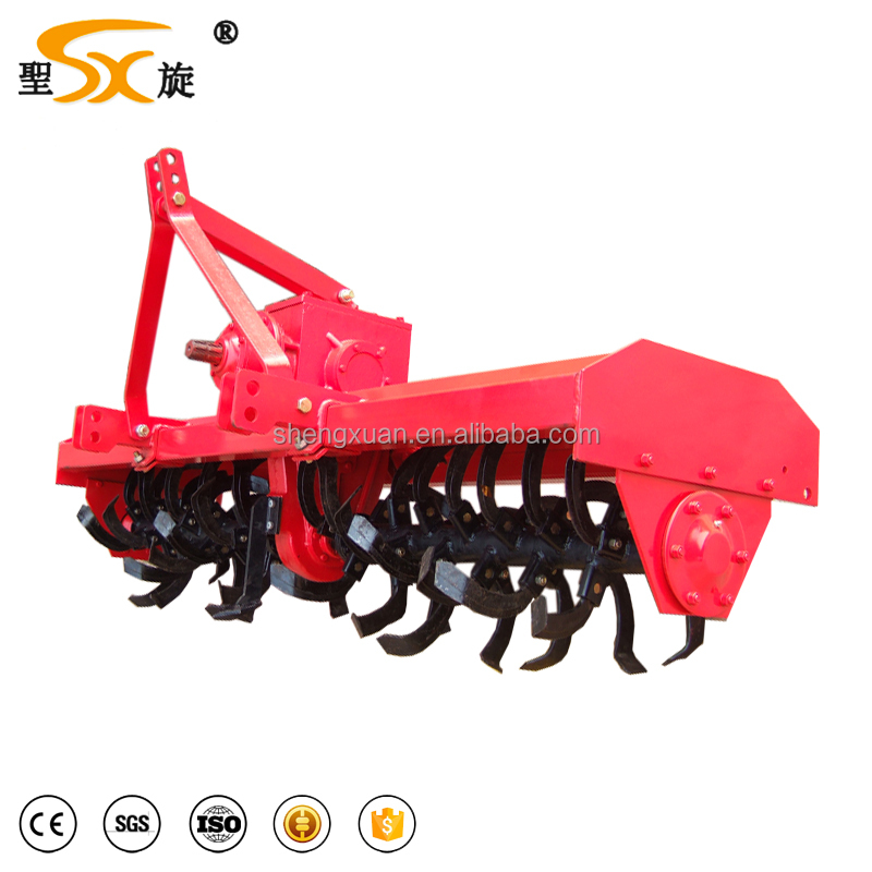 Agricultural equipment rotary tiller/rotavator for tractor
