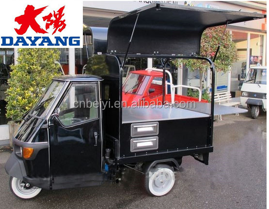 Chongqing cargo 200cc Driver Cabin 3 Wheel Tricycle With Closed Box In Ecuador