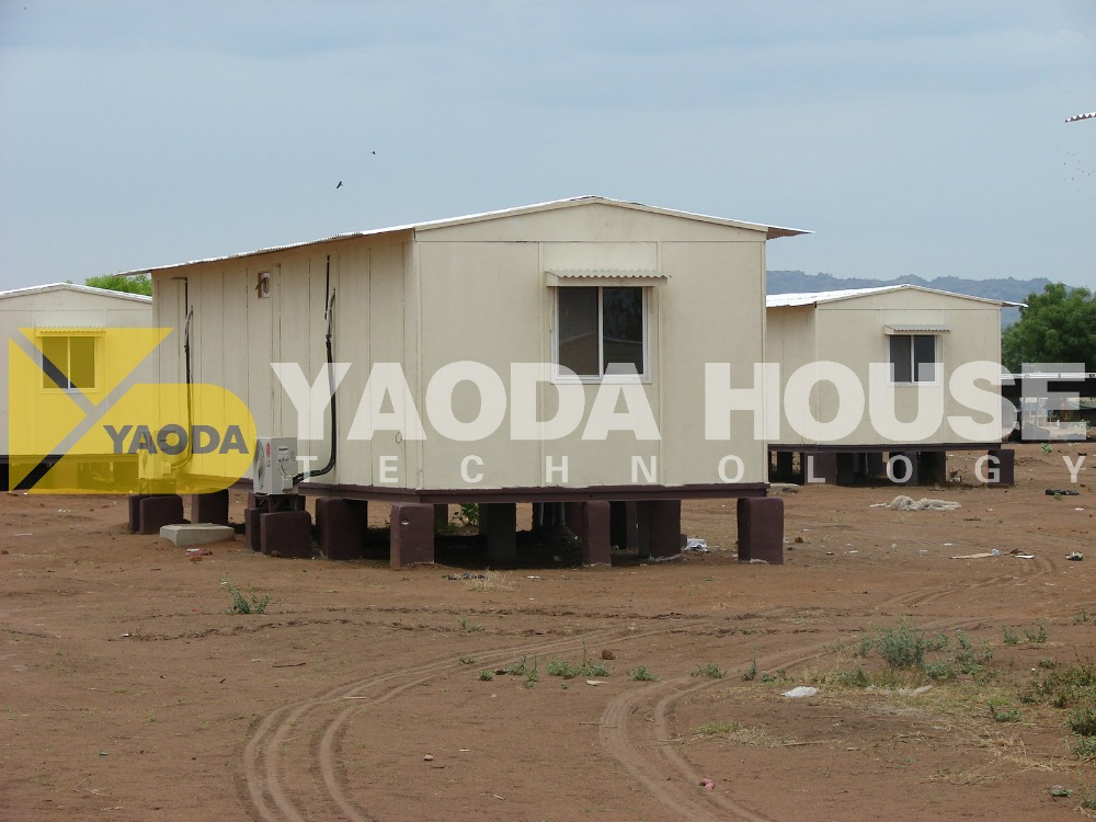 Free Design Prefab Home T Type Modular House for Dormitory/Facory/Hotel Sudan house