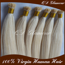 China Factory Wholesale 0.8g 1.0g I Tip Keratin Pre Bonded Hair Extensions