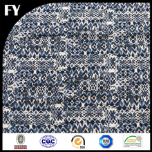 Digital printed custom 100 polyester snake skin printed fabric