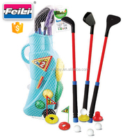 outdoor and indoor sport game plastic golf club toy for kids