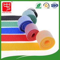 20mm nylon reusable double sided hook and loop cable tape