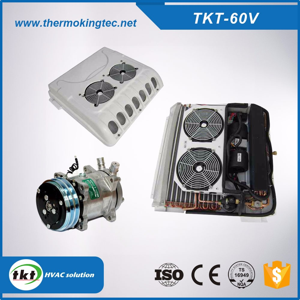 TKT-60V roof top mounted 5.5KW van air conditioner
