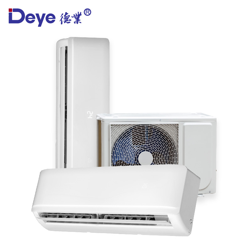 On grid <strong>AC</strong> DC dual power brushless motor money saving solar powered room air conditioner