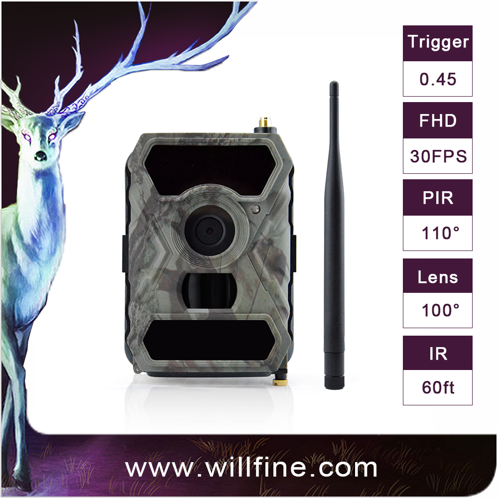 12MP hunting Camera game Scouting Night Vision Camera 65ft IR Sensor cam GPRS 3g hunting camera