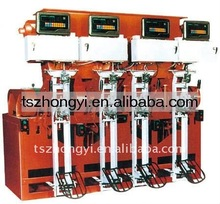 Auto Fixed Computer Weighing Valve Bag Cement Filling Machine with 4 spouts