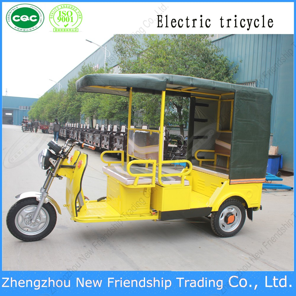 Factory price tricycle with tarpaulin roof canopy