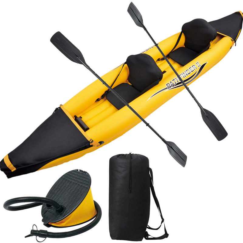 Pathfinder 2 Man Inflatable Kayak