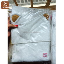 China factory Supplier high quality Custom Organic Bamboo Animal Baby Hooded Towel, Hooded Bath Towel