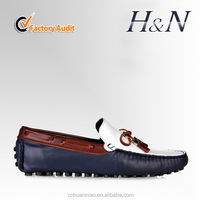 Folding leather shoes men(H&N)