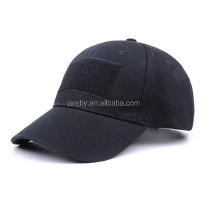 Custom Cotton Low Profile Tactical Operator Cap With Loop Patch