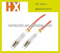top quality duplex single mode/multimode fiber patch cords LC network cabling accessories
