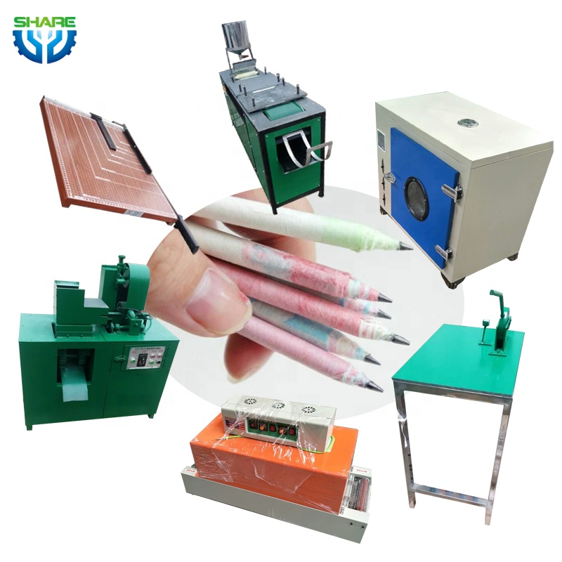 Pencil Maker Recycled Paper Pencil Making Machines