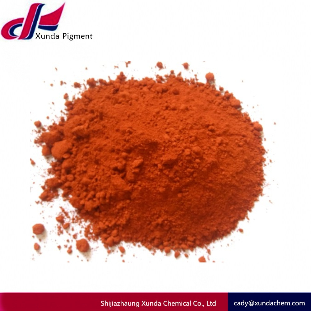 Factory hot sale 95% iron oxide red powder fe2o3 and yellow pigments for concrete coloring/bricks/paver block prices