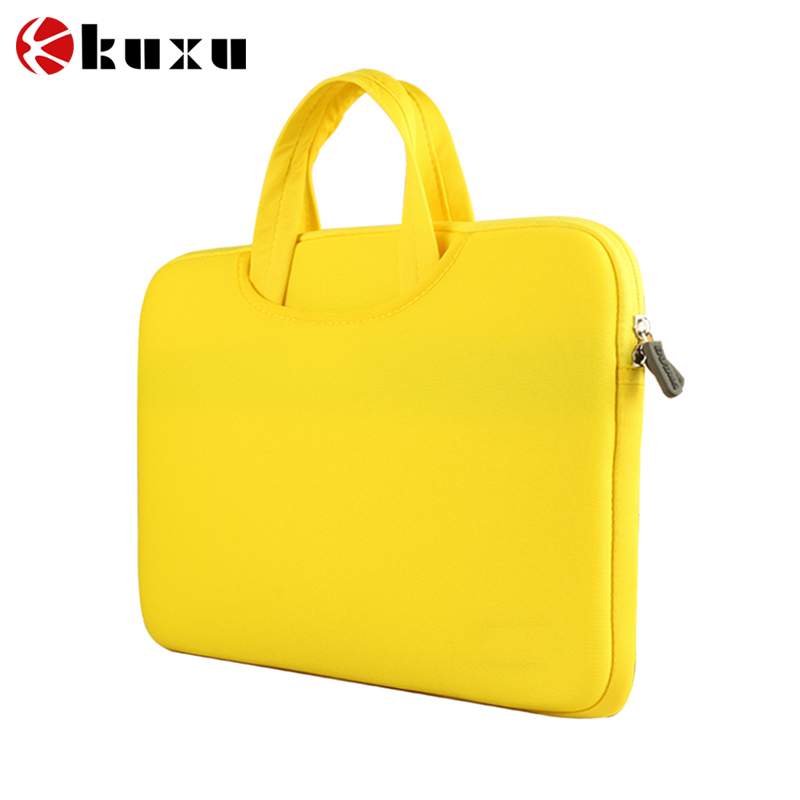 2016 Newest handbag shoulder laptop bag, cute nylon laptop case 17.3