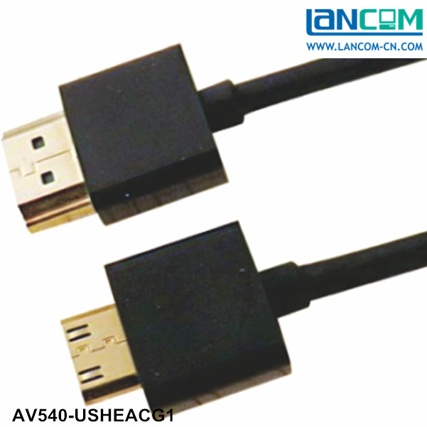 ultra slim high performance hdmi cable monoprice ultra thin hdmi cable 5m