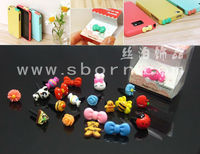 cute headphone dust plugs for cell phones