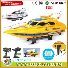 Remote control Yacht Toys High Speed Model Boat For Kids 1:16,2.4Ghz