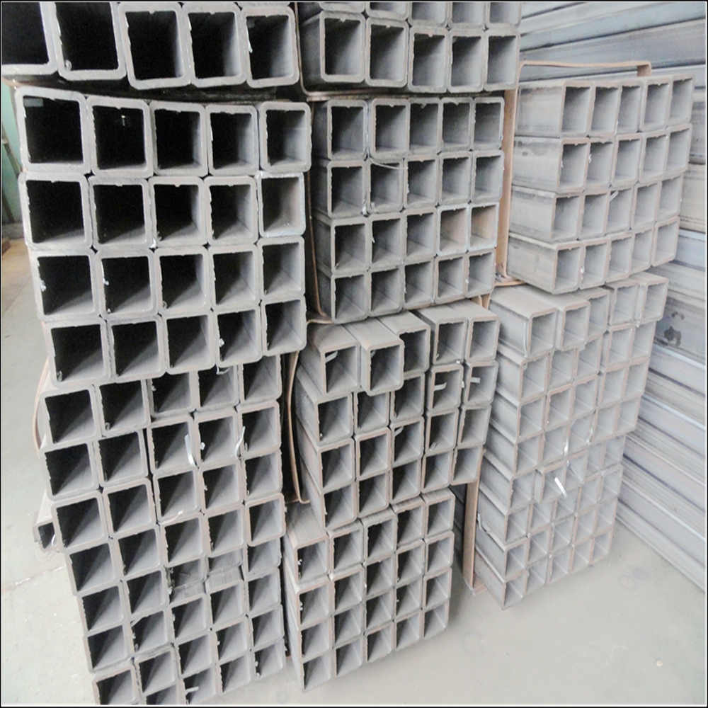 hot rolled galvanziezed square S275JR hollow metal tube