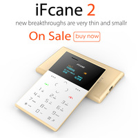 china lowest price IFcane E2 GSM quad band single sim card mini cell phone E2 GSM with multi-language