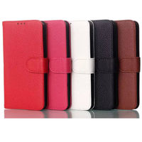 china factory price leather wallet case for lg g3 mini cover