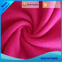 Various styles custom printed knitted warm polar fleece fabric