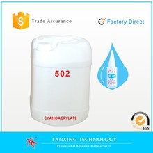 Factory direct, High Quality Cyanoacrylate Adhesive, super glue in 25kg drum, competitve price