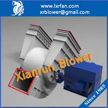 Double Inlet Heavy Duty Industrial Exhaust Fan for Cement Kiln