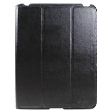 Folding ultrathin stand Leather Case for ipad 2/3/4 smart cover case