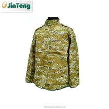 army tiger stripe light green camouflage rip-stop bdu uniform