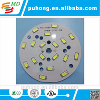 Aluminum Base Bulb Mounted LED Lighting Printed Circuit Board
