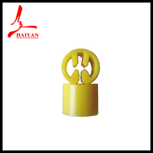Plastic size label for metal hook hanger for clothes