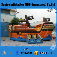 SUNJOY high quality PVC Inflatable Pirate Ship Inflatables Corsair for sale