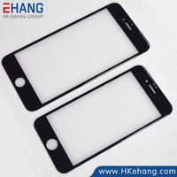 Mobile phone accessory 3d real tempered glass screen protector for iphone 6 plus full cover screen protector