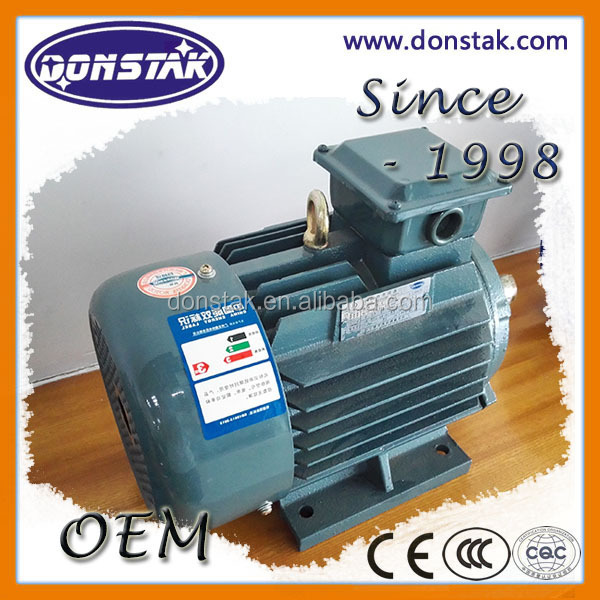 Waterproof electric motor ac induction Y2-802-4 0.75kw motor