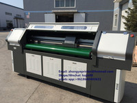Hybrid UV printer with 50mm print heigh flatbed and roll to roll printing fuction