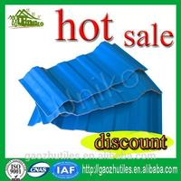 anti-uv composite japanese transparent roof tile