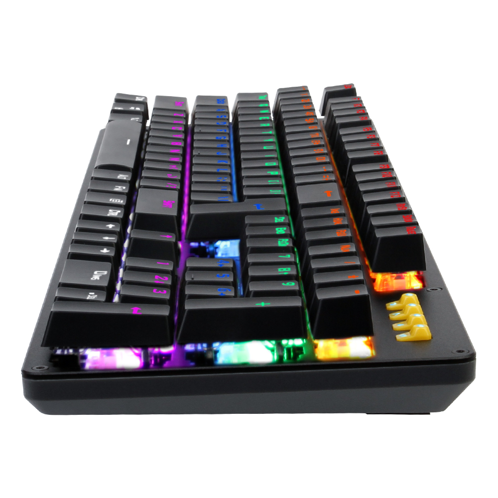 LB-K20 Latest RGB gaming keyboard multimedia gaming keyboard for professional gamers clavier gamer