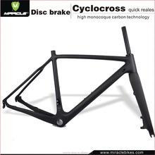 New Arrival Full Internal Cable Carbon Cyclocross Frame 27.2mm Seatpost Carbon Frame UD carbon Disc Brake Cyclocross