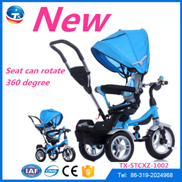 2016 Best Selling Products for Kids Baby Trike / Kids Metal Tricycle Push Trike / Baby Tricycle New Models
