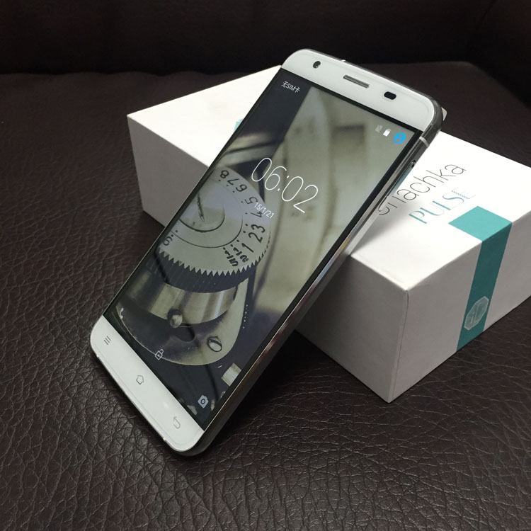 Smartphone 5.0inch ROM 8GB MTK6735 Quad Core android 4.4 transparent screen mobile phone