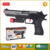 Zhorya kids safety yellow foam soft bullet plastic toy gun