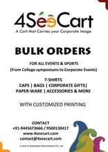 Bulk Orders merchandise products for schools, colleges & Corporates