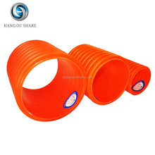 Light weight double wall pvc corrugated pipe for drain water good price