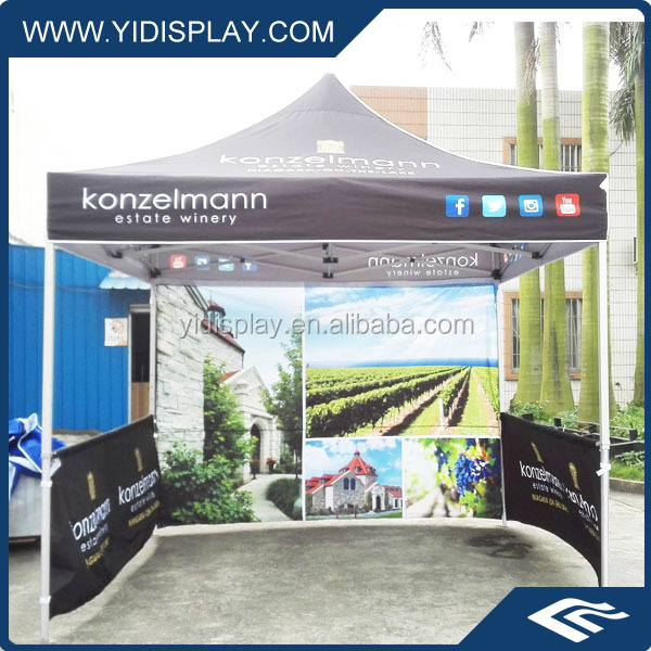 Weather Resistant Outdoor Commercial Exhibition Stand Tent