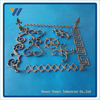 Customized Style Beautiful High Quality Used Wrought Iron Garden Fencing Design