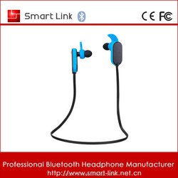 High end bluetotoh headphone for running sweatproof wireless earpiece for phone