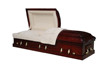 Custom luxury wood casket and coffin